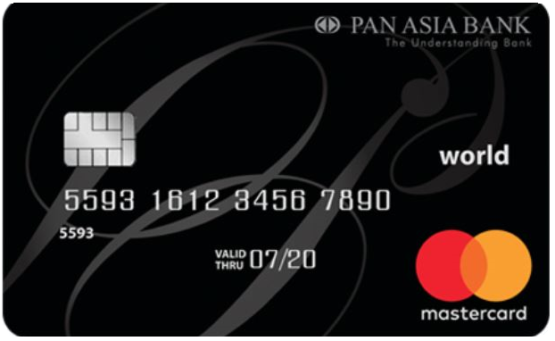 Pan Asia Banking Corporation Plc Credit Card