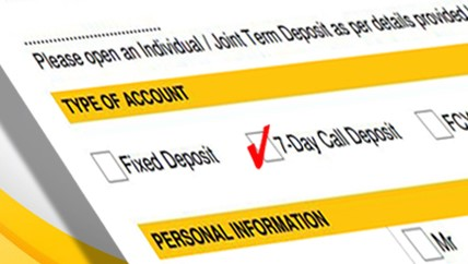 Bank of Ceylon 7 Day Call Deposits Fixed Deposit