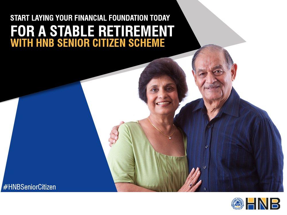 Hatton National Bank Plc HNB Senior Citizens Scheme Fixed Deposit