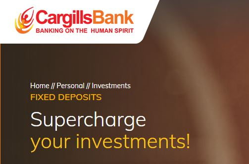 Cargills Bank Ltd Fixed Deposits Fixed Deposit