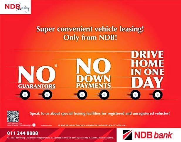 National Development Bank Plc Vehicle Loan