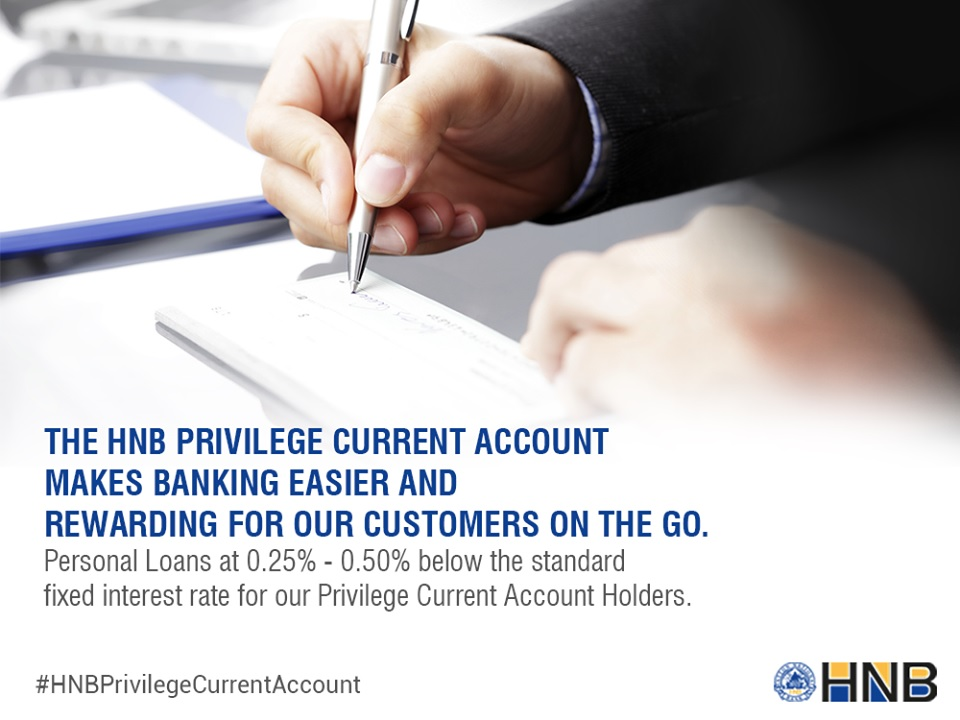 Hatton National Bank Plc Current Account Fixed Deposit