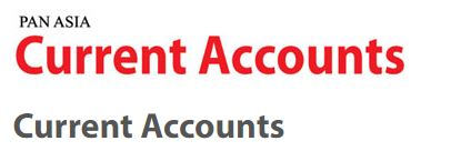 Pan Asia Banking Corporation Plc Current Accounts Fixed Deposit