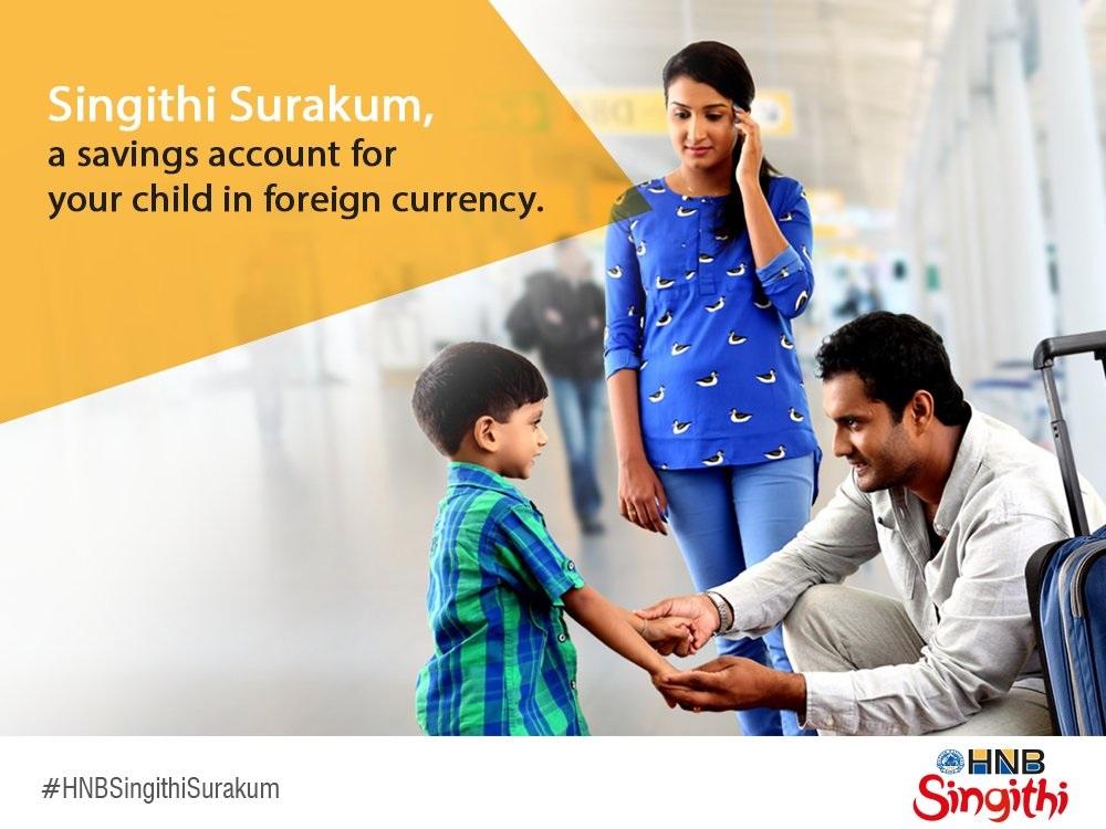 Hatton National Bank Plc Singithi Surakum - Foreign currency Fixed Deposit