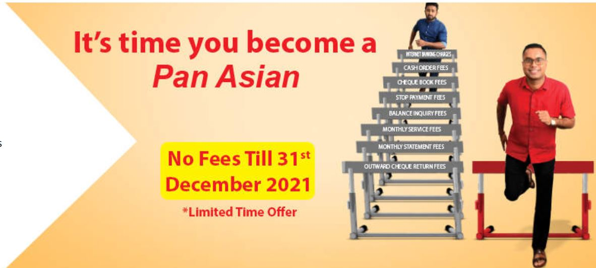 Pan Asia Banking Corporation Plc 25th Anniversary Current Account Fixed Deposit