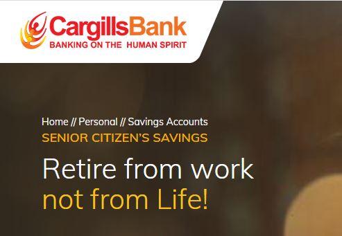 Cargills Bank Ltd Senior Citizen's Savings Fixed Deposit