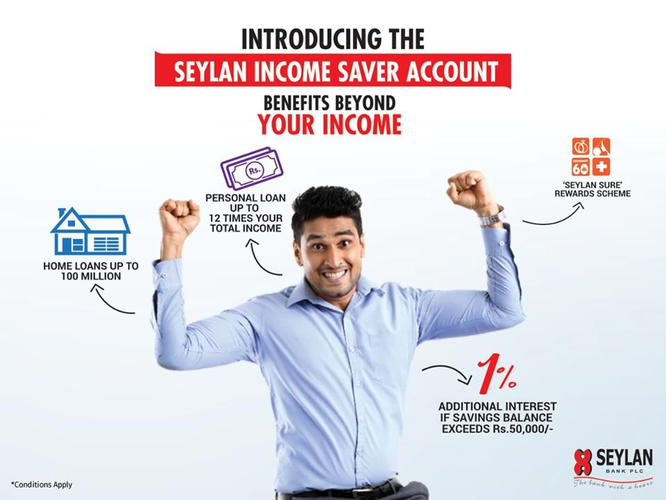 Seylan Bank Plc Seylan Income Saver Savings Account Fixed Deposit
