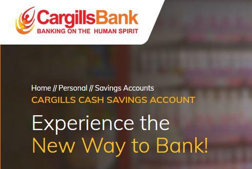 Cargills Bank Ltd Cargills Cash Savings Account Fixed Deposit