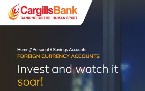 Cargills Bank Ltd Inward Investments Account Fixed Deposit