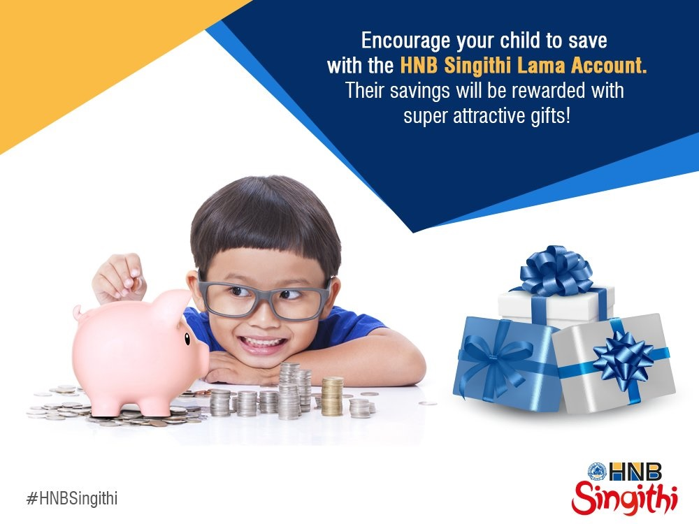 Hatton National Bank Plc Singithi Lama - Newborn to 12 years Fixed Deposit