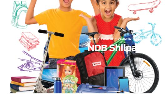 National Development Bank Plc NDB Shilpa Children's Savings Account Fixed Deposit
