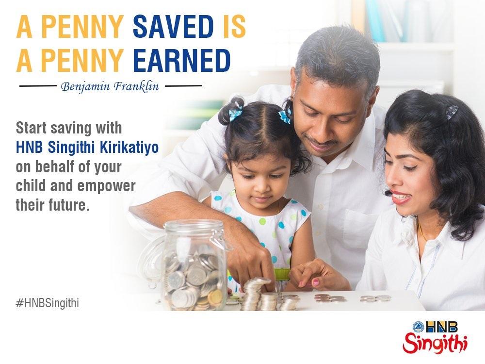 Hatton National Bank Plc Singithi Kirikatiyo - below 5 years Fixed Deposit