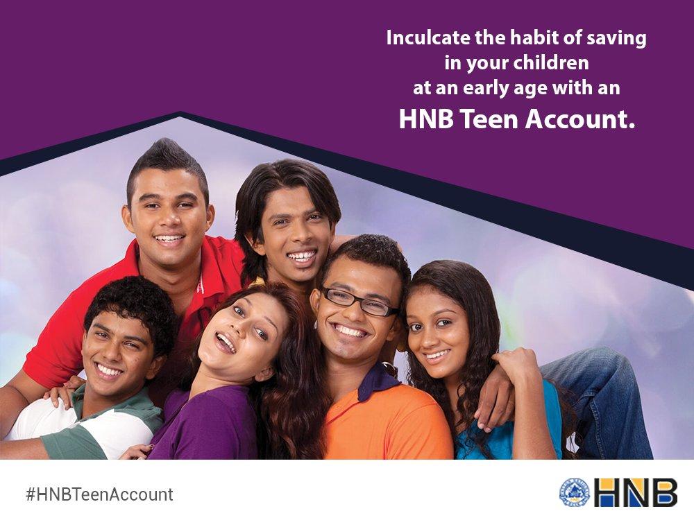 Hatton National Bank Plc HNB Teen Account Fixed Deposit