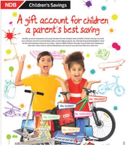 National Development Bank Plc Children's Savings Planner Fixed Deposit
